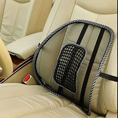 Comfortable Auto Car Waist Seat Chair Massage Cushion Office Back Lumbar Support