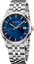 Calvin Klein Infinite Blue / Silver Stainless Steel Analog Quartz Women's Watch K5S3114N