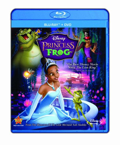 Princess & The Frog (Two-Disc Blu-Ray/Dvd Combo) front-482058