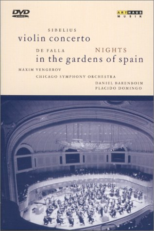 Sibelius - ' Violin Concerto / Nights in the Gardens of Spain [DVD] [1997] [NTSC]