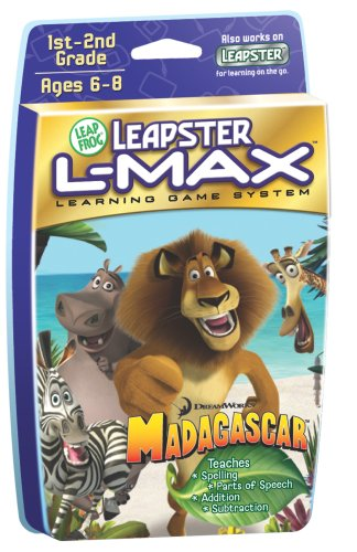 LeapFrog Leapster L-Max Educational Game: Madagascar - Buy LeapFrog Leapster L-Max Educational Game: Madagascar - Purchase LeapFrog Leapster L-Max Educational Game: Madagascar (LeapFrog, Toys & Games,Categories,Electronics for Kids,Learning & Education,Cartridges & Books,Reading & Spelling)
