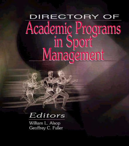 Directory of Academic Programs in Sport Management