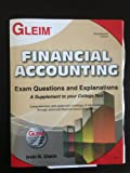img - for Financial Accounting Exam Questions and Explanations book / textbook / text book