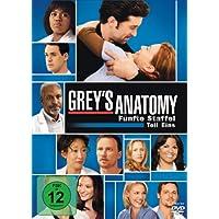 Grey's Anatomy: Die jungen �rzte - F�nfte Staffel, Teil Eins [3 DVDs]