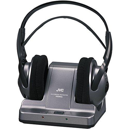 JVC 900MHZ Wireless Headphones - Black (Discontinued by Manufacturer) (Wireless 900 Mhz Tv Headphones compare prices)