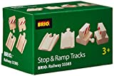 BRIO 33385 Ramp and Stop Track Pack