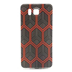 GENERIC Honeycomb Pattern TPU Material Phone Case for Samsung Galaxy Core Prime #03964392