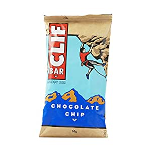 Clif Bar Energy Bar Chocolate Chip 68 g (Pack of 12)