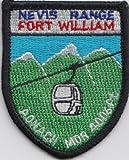 Fort William Inverness Nevis Range Scotland Scottish Flag Embroidered Patch Badge