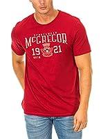 Mc Gregor Camiseta Manga Corta (Rojo)
