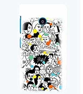 PRINTSWAG FACES Designer Back Cover Case for NOKIA LUMIA 530