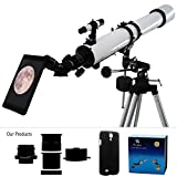 YA Cellphone Eyepiece Adapter for Spotting Scopes/Telescopes/Microscopes Compatible with Samsug Galaxy S4 I9500 [Images Fully Displaying on The Screen] [Focal Length of 14mm] [Visual Angle 75degrees]