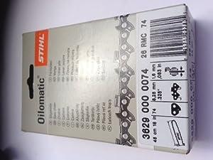 "Stihl Chaîne Rapid Micro Comfort (RMC) 45 cm pas 0,325"" (Import Grande Bretagne)"