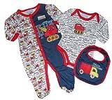 Duck Duck Goose Baby/Infant Boy's Navy & Red
