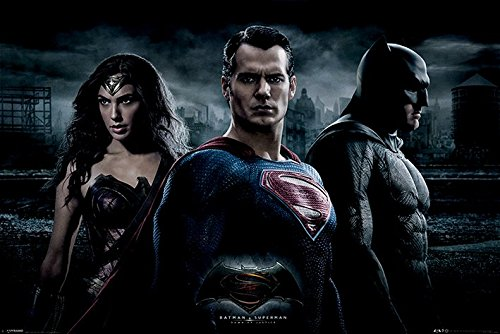バットマン vs スーパーマン ジャスティスの誕生 ポスター Batman V Superman (Trio)