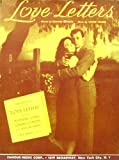 Love Letters theme - Jennifer Jones and Joseph Cotton on cover