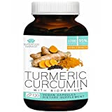 Organic Turmeric Capsules with Curcumin | 1200mg (120 Vegan Capsules) | Extra Strength Supplement with Bioperine® for Best Absorption and 95% Curcuminoids - Organic, Non-GMO, Made in USA ...