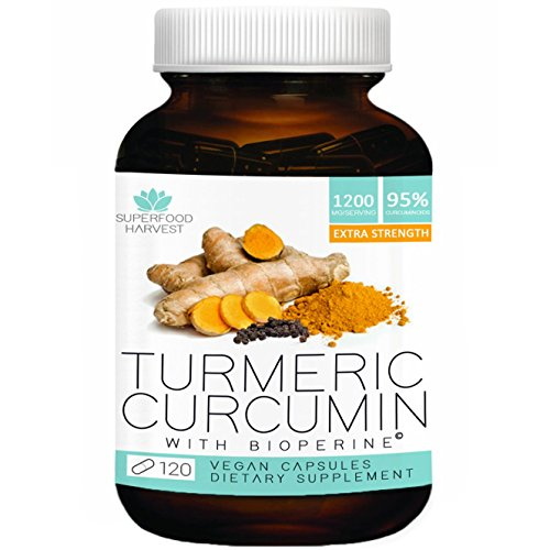 Organic-Turmeric-Curcumin-with-Bioperine-1200mg-120-Capsules-Extra-Strength-Pain-Relief-Joint-Support-Supplement-Non-GMO-Made-in-the-USA