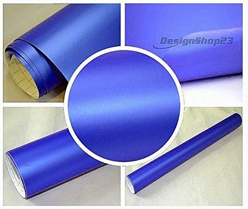 4 5 m auto folie blau metallic matt 30 x 152 cm. Black Bedroom Furniture Sets. Home Design Ideas