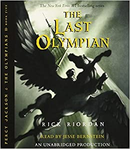 Percy Jackson And The Olympians Books 1 5 CD Collection Percy Jackson