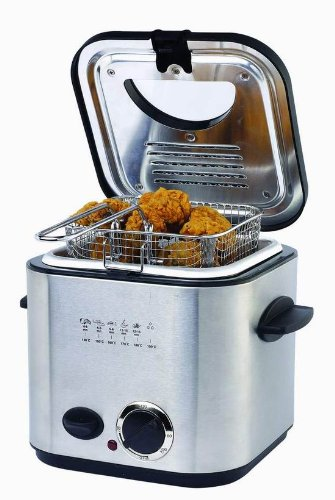 1.25qt stainless steel deep fryer