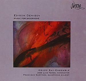 Denisov ; musique pour saxophone