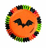 Wilton 415-0440 Halloween 3D Mini Baking Cups, 100 Count