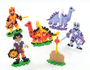 Perler Beads Dragons n' Knights Fused Bead Kit