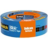"3M Scotch 2080 Safe-Release Painters Masking Tape, 60 yds Length x 3/4"" Width, Blue"