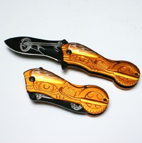 Engraved Hunting Knife
