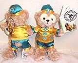 2014年 旧正月限定バージョン 海外ディズニー限定 ダッフィー ぬいぐるみバッジ チャイナ服 ぬいば
