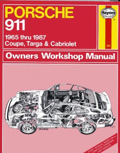 Porsche 911, 1965-87 Coupe, Targa and Cabriolet Owner's Workshop Manual