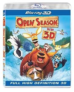 Open Season - Les Rebelles de la forêt [Blu-ray 3D] (Bilingual)