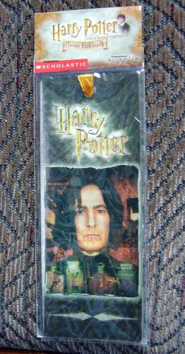 Harry Potter Bookmark Living Lenticular 3d Snape