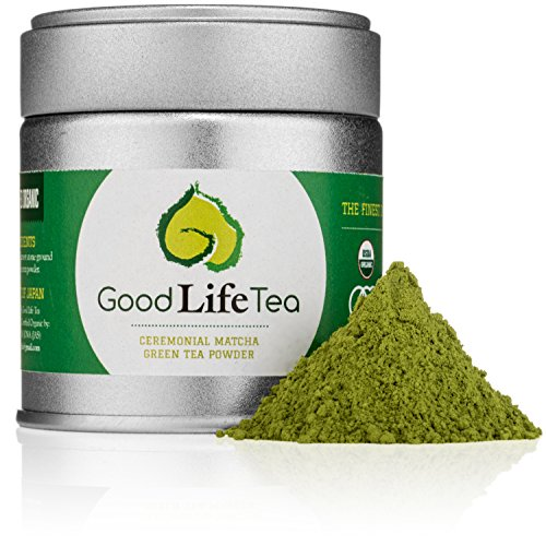 Good Life Tea Organic Ceremonial Matcha Green Tea Powder, 30g (Camellia Sinesis Extract compare prices)