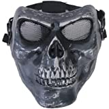 Coofit® Airsoft Skeleton Skull Full Face Protector Mask