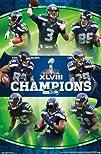 (22×34) Seattle Seahawks Super Bowl X…