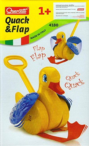 Quercetti Quack and Flap Duck