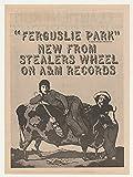 1974 Stealers Wheel Ferguslie Park A&M Records Photo Original Print Ad (Music Memorabilia)