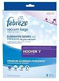 febreze hoover y replacement vacuum bag 3 pack
