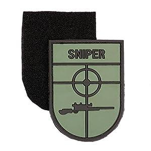 Ecusson / Patch 3d Pvc Velcro Sniper Kza-e-3d-695 Airsoft