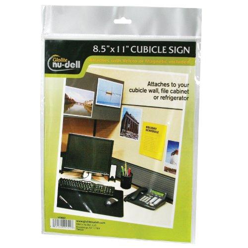 "8.5"" X 11"" All-Purpose Sign Holder, Clear front-902804"