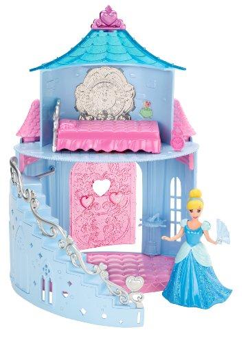 Mattel Disney Princess Little Kingdom Magiclip Cinderella Playset