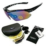 (フェリー) FERRY 全4カラー 偏光 レンズ スポーツ サングラス フルセット 専用交換レンズ5枚 ユニセックス