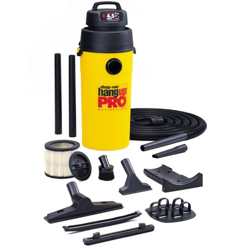 Buy Shop-Vac Hang Up Pro 5-Gallon 4.5 HP Wet/Dry Wall Mounted Vacuum #952-02-62 (Shop-Vac Power Tools,Power & Hand Tools, Power Tools, Vacuums & Dust Collectors, Wet-Dry Vacuums)