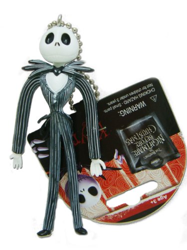 Nightmare Before Christmas Jack Bendable Key Chain