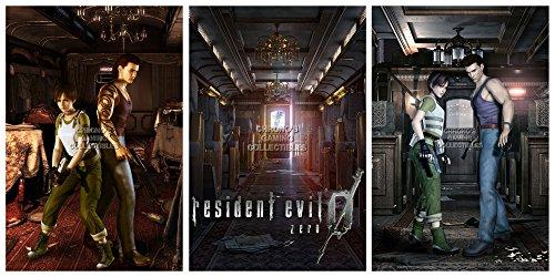 "CGC Poster grande, motivo: Resident Evil Zero, Nintendo Game Cube PS2, PS3, PS4, XBOX ONE, RESSET2, Carta, 24"" x 36"" (61cm x 91.5cm)"