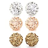 Value Pack, Bling Bling Rhinestones Crystal Fireball Disco...