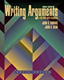 Writing Arguments: A Rhetoric with Readings, Brief Edition (0205269184) by John D. Ramage
