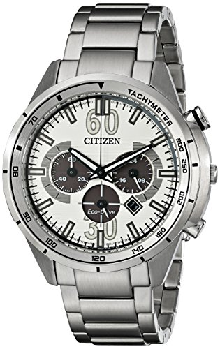 Citizen Eco-Drive Drive HTM Chronograph Stainless Steel Men's watch #CA4121-57A